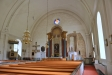 Kyrkan sedd från gravkapellet