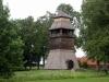 1762 byggdes en klockstapel utanför kyrkomuren. Juni 2009