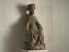 . I kyrkan finns flera medeltida träskulpturer