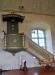 Predikstolen från 1806 utfördes av Krång Lars Ersson på Sollerön