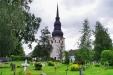 Stora Tuna kyrka juli 2014