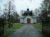 Närbild av predikstolens dekor. Foto:Bertil Mattsson