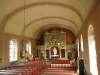 Altare och orgelläktare på samma sida