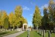 Från kyrkogården