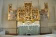 Det vackra altarskåpet från Jan Bormans verkstad i Bryssel c:a 1510