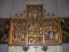 del av altarskåpet