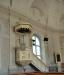 Predikstolen är tillverkad i Västerås 1852