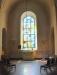 Bakre delen av kyrkan inkl. S. Martins kapell skiljs åt av vackert smide