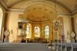 Takmålningarna i koret är utförda av Edvard August Bergh
