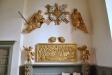 Delar av den äldre altaruppsatsen från 1731