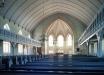 Trönö nya kyrka på 90-talet - innan branden. Foto: Åke Johansson.