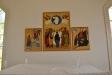 Ikonmålningar som altartriptyk