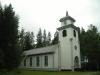 Annefors kapell ligger i en liten glänta