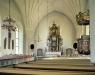 Hälsingtuna kyrka på 90-talet. Foto: Åke Johansson.