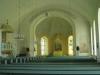 Altarringen var övertäckt med ett illgrönt skydd