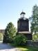 Klockstapeln byggdes 1734 av Lars Pettersson-Grundström