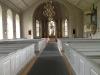 Kalls Kyrka Jämtland gång mot altaret