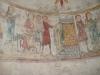 Detalj från kalkmålningar i nuvarande sakristian.
