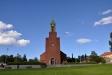 Stora kyrkan i Östersund 4 juli 2016