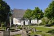 Nordmalings kyrka var inte öppen den här gången heller..