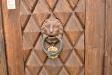 Lejonet vaktar den låsta porten