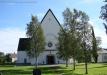 Lövångers kyrka. Klockstapel.