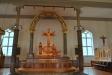 Här syns även den vita orgeln som kom från Niemisels kapell