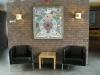 Mosaik i entréhallen
