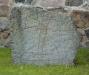 Runsten vid Gamla Uppsala kyrka