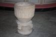 Dopfunten från 1100-talet är kyrkans äldsta inventarium.