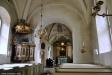 Predikstolens äldsta delar är från 1600-talet