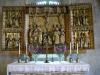 Vackert 1600-talssmide avskiljer gravkoret