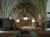 Många små änglahuvuden ryns på predikstolen