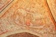 De gamla målningarna från sent 1500 eller tidigt 1600-tal togs fram 1905-06