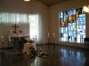 Interiör Stillhetens kapell