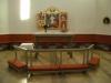 Predikstol - ambo och dopfunt i samma stil