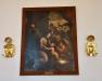Apostlarna Paulus och Andreas samt Kristus syns här