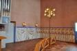 sex lågor målade på väggen är för Guds 7 församlingar