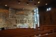 Vackert predikstolskläde. Design Sten Kauppi
