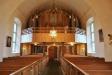 Orgeln fyller nästan hela läktaren