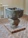 Dopfuntens cuppa är av kolmårdsmarmor från 1250