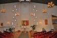 Översiktsbild från ingången till kyrkorummet