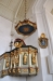 Epitafium över kh Petrus Petri Franc m två hustrur och  barn