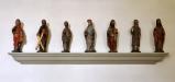 Figurer från gammalt altarskåp