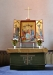 Altaruppsats målad av Gunnar Torhamn
