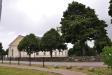 Kyrkan sedd norrifrån