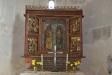 Altaret i den gamla kyrkan.