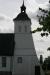 Klocktornet som dockades på kyrkan.
