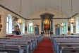 Kyrkan efter inre renoverin 2012.