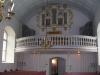 Vacker orgel på vacker läktare